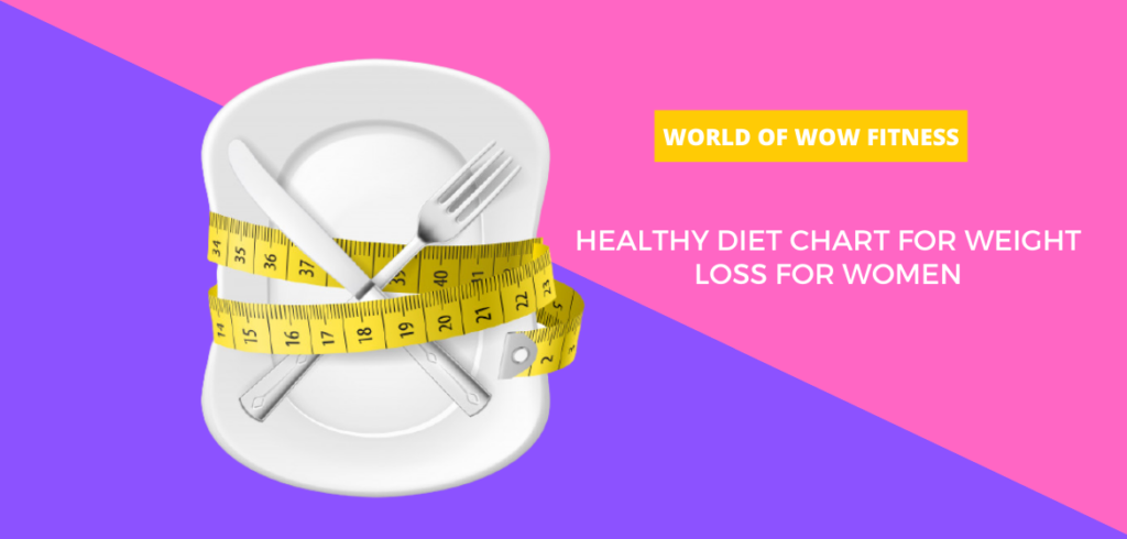 HEALTHY DIET CHART FOR WEIGHT LOSS FOR WOMEN