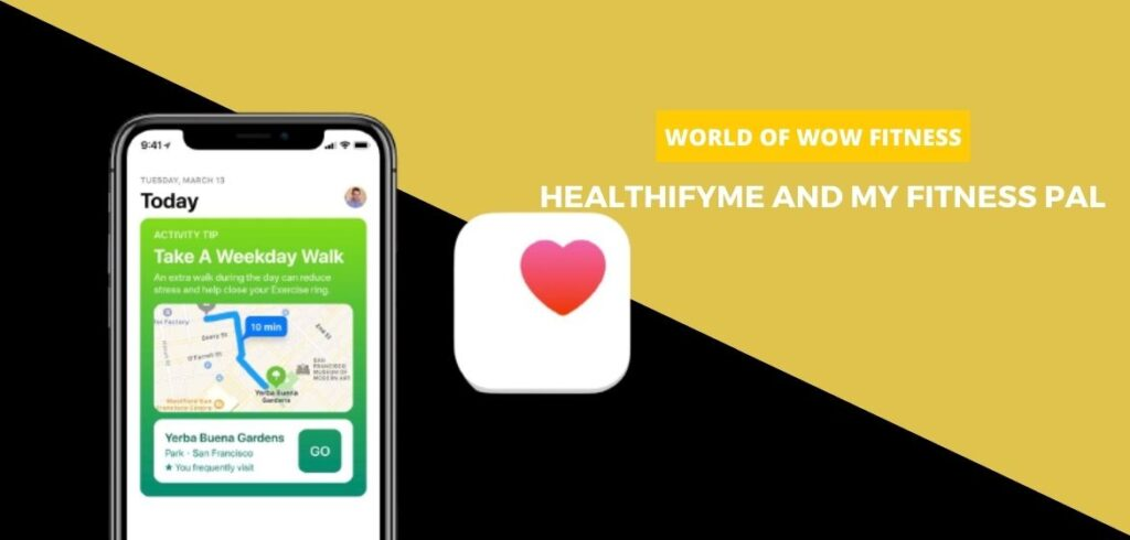 HealthifyMe AND My Fitness Pal